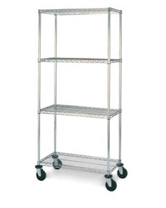 Olympic Chrome Wire Cart