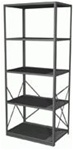 Borroughs Open Style Steel Starter | Borroughs Shelves and Accessories from Steel Shelving USA