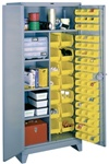 1122 All Welded Combination-Bin Cabinet | Lyon Shelving and Workspace Products from Steel Shelving USA