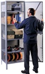 1130 Lyon All Welded Visible Storage Cabinet | Lyon Shelving and Workspace Products from Steel Shelving USA