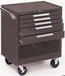 Model 295 5 Drawer Roller Cabinet | Kennedy Cabinets and Drawers from Steel Shelving USA