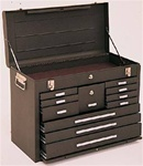 Model 3611 11 Drawer Machinist's Chest | Kennedy Cabinets and Drawers from Steel Shelving USA