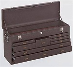 Model 526 8 Drawer Machinist's Chest | Kennedy Cabinets and Drawers from Steel Shelving USA