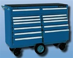 Model 5301 12 Drawer Maintenance Cart | Kennedy Cabinets and Drawers from Steel Shelving USA