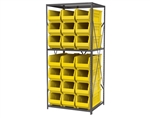 Steel Shelving with Super-Size AkroBins
