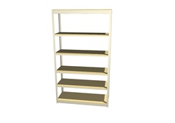 "B4824SR67 Boltless Shelving 48""Wx24""Dx7'High with 6 Levels 