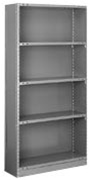 CSB85-2436-5L Tri-Boro Closed Style Starter Unit | Tri-Boro Shelving from Steel Shelving USA