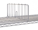 "JDD18C 8"" High Wire Shelf Divider 18""Deep 