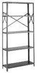 OSB85-2442-5L Tri-Boro Open Style Starter Unit | Tri-Boro Shelving from Steel Shelving USA