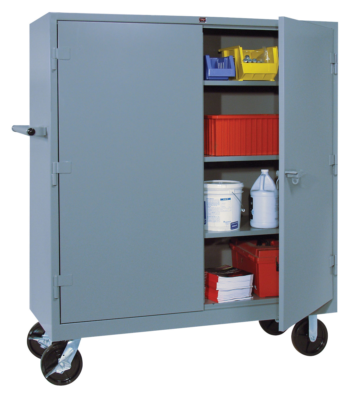 Mobile Welded Storage Cabinet