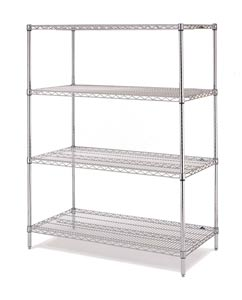 Olympic Chrome Wire Shelving