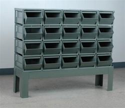 Stackrack Unit w/ #3 Stackbins