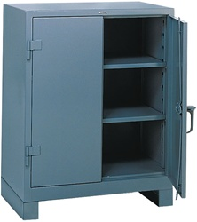1110 Heavy Duty Storage Cabinet Counter High | Lyon Shelving and Workspace Products from Steel Shelving USA