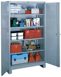 1120 Heavy Duty Storage Cabinet Full Height | Lyon Shelving and Workspace Products from Steel Shelving USA