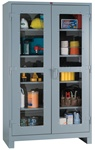 1120V Heavy Duty Clear View Cabinet Full Height | Lyon Shelving and Workspace Products from Steel Shelving USA