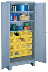 1123 All Welded Shelf-Bin Cabinet | Lyon Shelving and Workspace Products from Steel Shelving USA