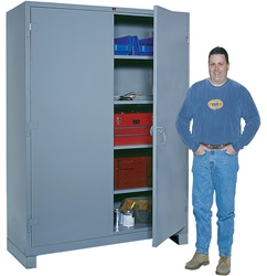 1145 Heavy Duty Storage Cabinet Full Height | Lyon Shelving and Workspace Products from Steel Shelving USA