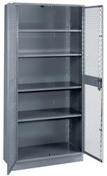 1151B Lyon All Welded Visible Storage Cabinet | Lyon Shelving and Workspace Products from Steel Shelving USA