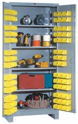 1155 All Welded Shelf-Bin Cabinet | Lyon Shelving and Workspace Products from Steel Shelving USA