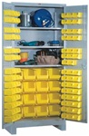 1156 All Welded Shelf-Bin Cabinet | Lyon Shelving and Workspace Products from Steel Shelving USA