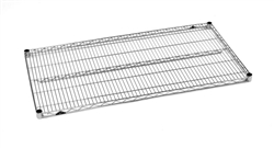 2124NS Metro Stainless Steel Wire Shelf | Metro Shelving, Wire Parts and Accessories from Steel Shelving USA
