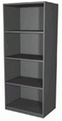 3004-4 Borroughs Closed Style Steel Starter | Borroughs Shelves and Accessories from Steel Shelving USA