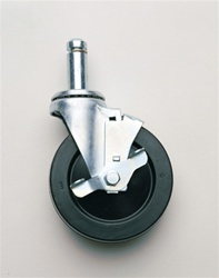 5MB Metro Stem/Swivel Caster with Brake | Metro Shelving, Wire Parts and Accessories from Steel Shelving USA
