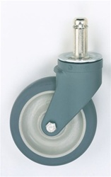 5PCX MetroMax iQ Polymer Stem Swivel Caster | Metro Shelving, MetroMax iQ Parts and Accessories from Steel Shelving USA