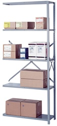 8047H Lyon Open Style Shelving-Add On | Lyon Shelving and Workspace Products from Steel Shelving USA