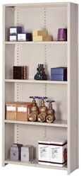 8268SH Lyon Closed Style Shelving-Starter Unit | Lyon Shelving and Workspace Products from Steel Shelving USA