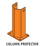 "ACFD-24-0 Column Protector 24""High 