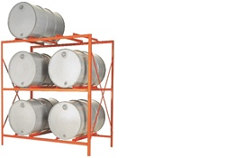 DR6-2H Drum Storage Rack by MECO