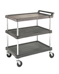 J16UC2 Olympic Polymer 2 Shelf Utility Cart | Olympic Wire Shelving from Steel Shelving USA