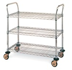 JH5C Olympic 1 Piece U-Handle | Olympic Wire Shelving from Steel Shelving USA