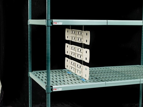 md2424 divider metro shelving wire parts and