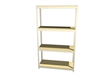 "T4824DR47 Boltless Shelving 48""Wx24""Dx7'High with 4 Levels on Closeout"